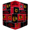 Chicago Blackhawks Nhl Block Fleece Fabric Samsung Galaxy Tab 10.1  P7500 Flip Case View4
