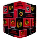 Chicago Blackhawks Nhl Block Fleece Fabric Samsung Galaxy Tab 8.9  P7300 Flip Case View4