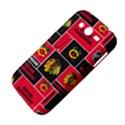 Chicago Blackhawks Nhl Block Fleece Fabric Samsung Galaxy Grand DUOS I9082 Hardshell Case View4