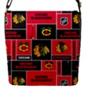Chicago Blackhawks Nhl Block Fleece Fabric Flap Covers (S)  View1