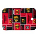 Chicago Blackhawks Nhl Block Fleece Fabric Samsung Galaxy Note 8.0 N5100 Hardshell Case  View1