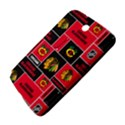 Chicago Blackhawks Nhl Block Fleece Fabric Samsung Galaxy Note 8.0 N5100 Hardshell Case  View4