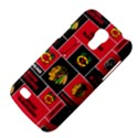 Chicago Blackhawks Nhl Block Fleece Fabric Galaxy S4 Mini View4
