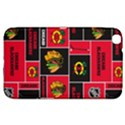 Chicago Blackhawks Nhl Block Fleece Fabric Samsung Galaxy Tab 3 (8 ) T3100 Hardshell Case  View1
