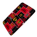 Chicago Blackhawks Nhl Block Fleece Fabric Samsung Galaxy Tab 3 (10.1 ) P5200 Hardshell Case  View4