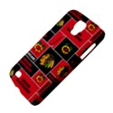 Chicago Blackhawks Nhl Block Fleece Fabric Galaxy S4 Active View4