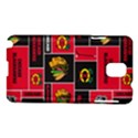 Chicago Blackhawks Nhl Block Fleece Fabric Samsung Galaxy Note 3 N9005 Hardshell Case View1