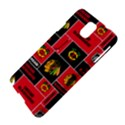 Chicago Blackhawks Nhl Block Fleece Fabric Samsung Galaxy Note 3 N9005 Hardshell Case View4