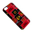 Chicago Blackhawks Nhl Block Fleece Fabric Apple iPhone 5C Hardshell Case View5