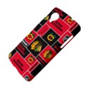 Chicago Blackhawks Nhl Block Fleece Fabric LG Nexus 5 View4