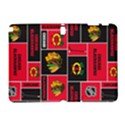 Chicago Blackhawks Nhl Block Fleece Fabric Samsung Galaxy Note 10.1 (P600) Hardshell Case View1