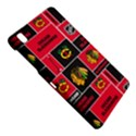 Chicago Blackhawks Nhl Block Fleece Fabric Samsung Galaxy Tab Pro 8.4 Hardshell Case View4