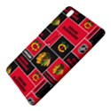 Chicago Blackhawks Nhl Block Fleece Fabric Samsung Galaxy Tab Pro 8.4 Hardshell Case View5