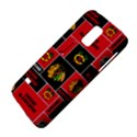 Chicago Blackhawks Nhl Block Fleece Fabric Galaxy S5 Mini View4