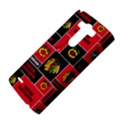 Chicago Blackhawks Nhl Block Fleece Fabric LG G3 Hardshell Case View4