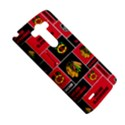 Chicago Blackhawks Nhl Block Fleece Fabric LG G3 Hardshell Case View5
