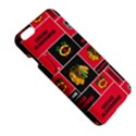 Chicago Blackhawks Nhl Block Fleece Fabric Apple iPhone 6 Plus/6S Plus Hardshell Case View5