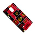 Chicago Blackhawks Nhl Block Fleece Fabric Samsung Galaxy Note 4 Hardshell Case View5