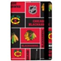 Chicago Blackhawks Nhl Block Fleece Fabric iPad Air 2 Flip View2