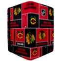 Chicago Blackhawks Nhl Block Fleece Fabric iPad Air 2 Flip View3