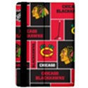 Chicago Blackhawks Nhl Block Fleece Fabric iPad Air 2 Flip View4