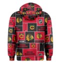 Chicago Blackhawks Nhl Block Fleece Fabric Men s Pullover Hoodie View2