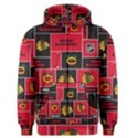 Chicago Blackhawks Nhl Block Fleece Fabric Men s Zipper Hoodie View1