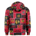 Chicago Blackhawks Nhl Block Fleece Fabric Men s Zipper Hoodie View2