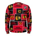 Chicago Blackhawks Nhl Block Fleece Fabric Men s Sweatshirt View1