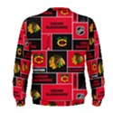 Chicago Blackhawks Nhl Block Fleece Fabric Men s Sweatshirt View2