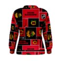Chicago Blackhawks Nhl Block Fleece Fabric Women s Sweatshirt View2