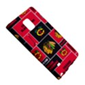 Chicago Blackhawks Nhl Block Fleece Fabric Galaxy Note Edge View5