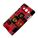 Chicago Blackhawks Nhl Block Fleece Fabric Samsung Galaxy A5 Hardshell Case  View4