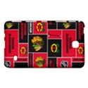 Chicago Blackhawks Nhl Block Fleece Fabric Samsung Galaxy Tab 4 (7 ) Hardshell Case  View1