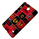 Chicago Blackhawks Nhl Block Fleece Fabric Samsung Galaxy Tab 4 (7 ) Hardshell Case  View4