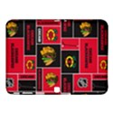 Chicago Blackhawks Nhl Block Fleece Fabric Samsung Galaxy Tab 4 (10.1 ) Hardshell Case  View1