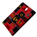 Chicago Blackhawks Nhl Block Fleece Fabric Samsung Galaxy Tab S (8.4 ) Hardshell Case  View4
