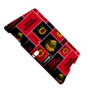 Chicago Blackhawks Nhl Block Fleece Fabric Samsung Galaxy Tab S (10.5 ) Hardshell Case  View5