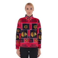Chicago Blackhawks Nhl Block Fleece Fabric Winterwear