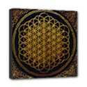 Bring Me The Horizon Cover Album Gold Mini Canvas 8  x 8  View1