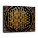 Bring Me The Horizon Cover Album Gold Canvas 14  x 11  View1