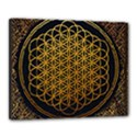 Bring Me The Horizon Cover Album Gold Canvas 20  x 16  View1