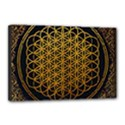 Bring Me The Horizon Cover Album Gold Canvas 18  x 12  View1