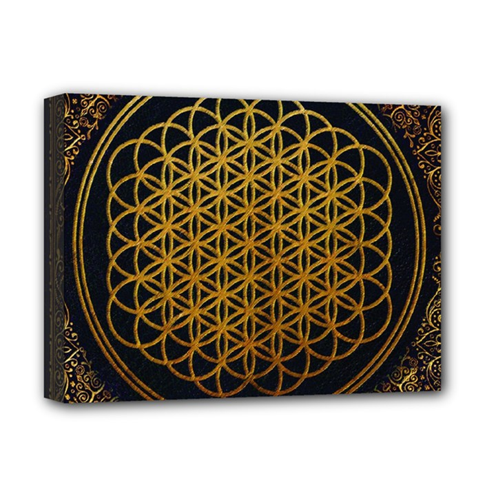 Bring Me The Horizon Cover Album Gold Deluxe Canvas 16  x 12