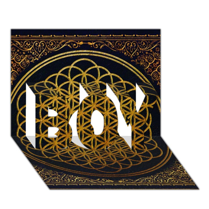 Bring Me The Horizon Cover Album Gold BOY 3D Greeting Card (7x5)