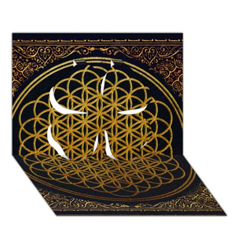 Bring Me The Horizon Cover Album Gold Clover 3D Greeting Card (7x5)