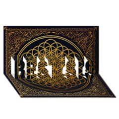 Bring Me The Horizon Cover Album Gold BEST SIS 3D Greeting Card (8x4)