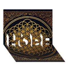 Bring Me The Horizon Cover Album Gold HOPE 3D Greeting Card (7x5)