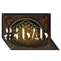Bring Me The Horizon Cover Album Gold #1 DAD 3D Greeting Card (8x4)