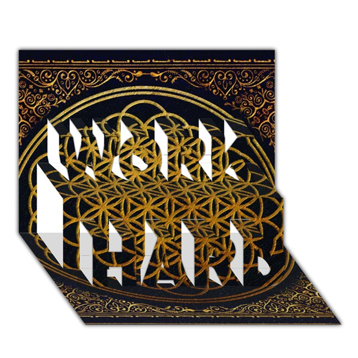 Bring Me The Horizon Cover Album Gold WORK HARD 3D Greeting Card (7x5)